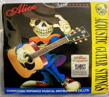 Alice Acoustic Guitar Strings A206 1 Set