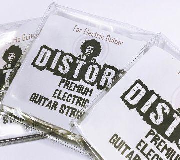 Distort Electric Guitar Strings 1 Set 6 Strings