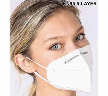 KN95 - 5-Layer Protective Respirator Masks (With cerficate)