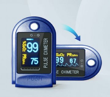 Finger Pulse Oximeter With Warranty