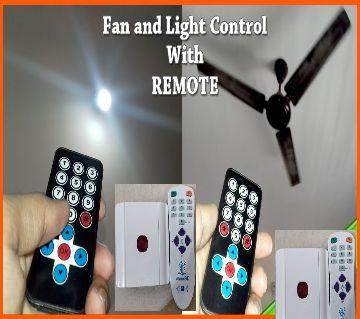Remote Control Fan Light