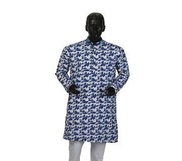Mens Semi long Cotton Panjabi-10