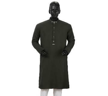 Mens Long Cotton Panjabi - 30 (Dark)