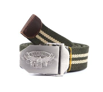 05  Fabric Casual Belt For Men