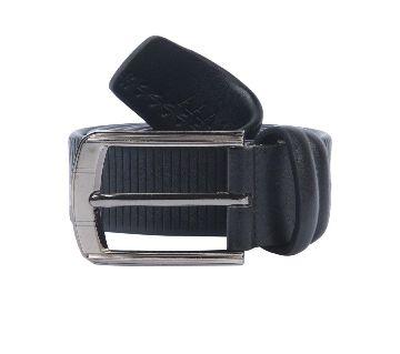 10Black Artificial Leather Formal Belt For Men