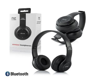 P47 Wireless Headphone New