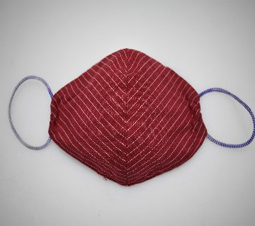 CDC Approved Fabric Face Masks (Red Stripe)