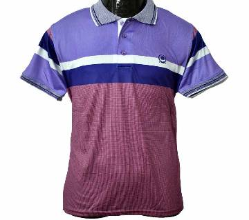 Half Sleeve Mens Stripe Polo T-Shirt 2020 Finn & Deluge