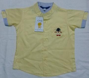 Stylish Shirt for Boys babies-yellow