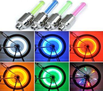 2 PCS Bicycle Wheel Light - Multicolour