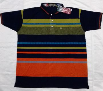 Short Sleeve Polo T-Shirt for Men China Cotto