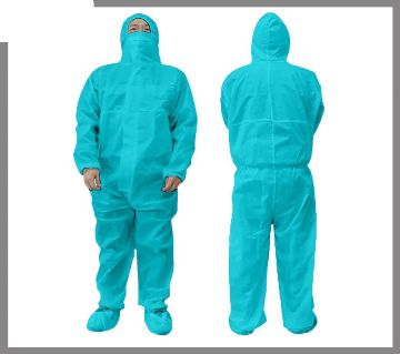 PPE with Shoe Cover and Mask-Non-Woven--Washable