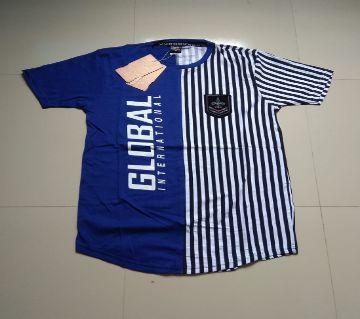 half sleeve cotton T- shirt  for men-multicolor