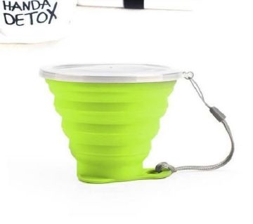 Travel Cup Folding Silicone/ mc