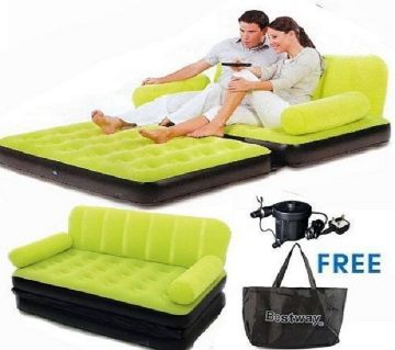 BESTWAY Double Air Bed Cum Sofa/ MC
