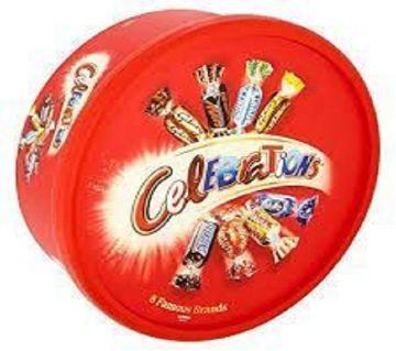 Celebration Mix Chocolate Gift Tub  660g UK/ MC