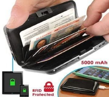 Insta-Charge Wallet with RFID Protection / mc