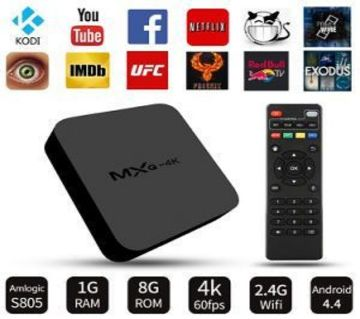 Mxq-4K Android TV Box Amlogic S805 1GB RAM/8GB ROM / mc