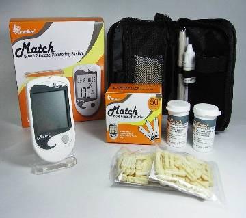 Blood Glucose Monitor OK meter Match Diabetes Test Machine