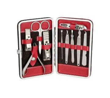 12 In 1 Professional Beauty Manicure Pedicure Kit With leather case