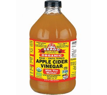 Apple Cider Vinegar with The Mother Bragg-USA (Raw - Unfiltered), 946 ml