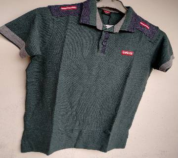 Export Quality half sleeve  Polo-Shirt for Men-Levis