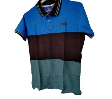 Export Quality half sleeve  Polo-Shirt for Men  -Blue