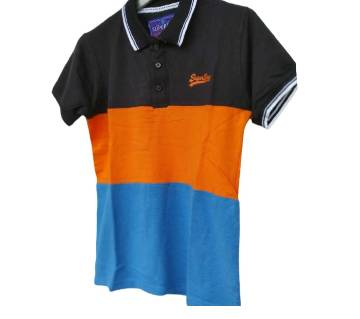 Export Quality half sleeve  Polo-Shirt for Men  -orange