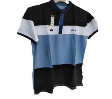 Export Quality half sleeve  Polo-Shirt for Men-FILA