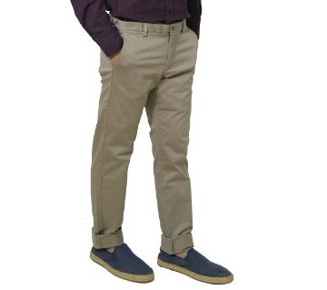 Chinos pant for men-04-cream color