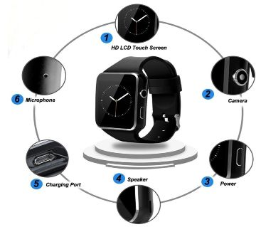 Smart Watch -black