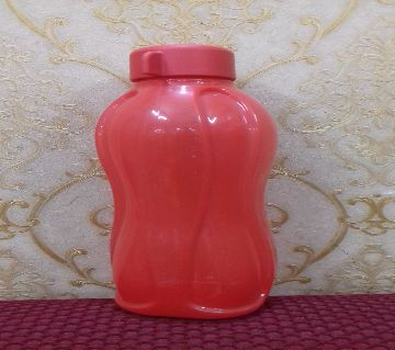 Tupperware Aquasafe Water Bottle 500ml(red)