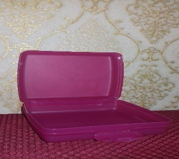 Tupperware Sandwich keeper Peanuts 1pc(pink)