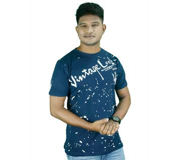 Vintage Look Casual T-shirt for Men