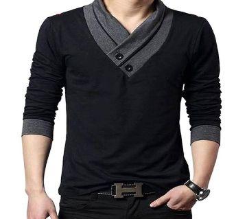 Full Clive Cotton  T-Shirt For Men