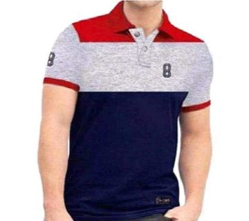 Menz Casual / Formal / Trendy / Colourfull / Half Sleave Polo T-Shirt