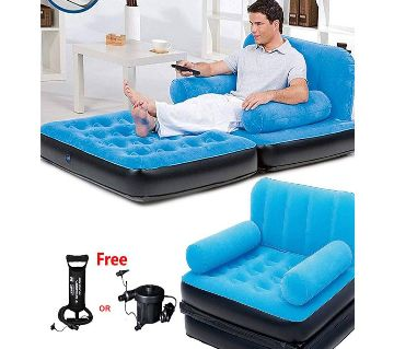 Single air bed with sofa-Bestway