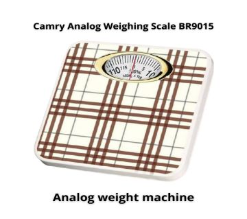 Camry Analog Weighing Scale BR9015