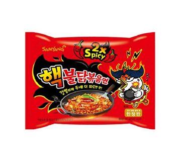 Samyang Ramen Hot Chicken Flavor Ramen (Spicy 2x)-140gm-Korea