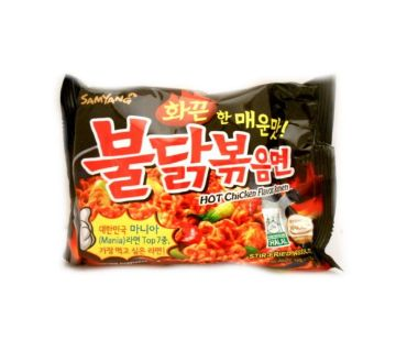Hot Chicken Flavor Raman (Mania - Stir Fried Noodles)-140gm-Korea