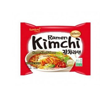 Samyang Ramen Kimchi-140gm-Korea