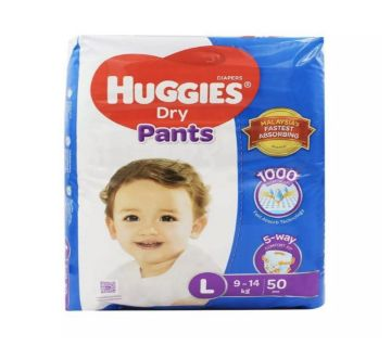 Huggies Dry Pants Large