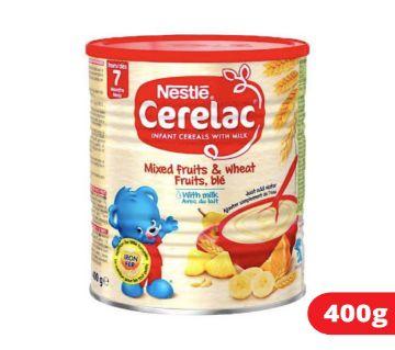 Cerelac 7 months (Mixed Fruits & Wheat) 400 gram-Switzerland.