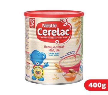 Cerelac 12 months (Honey & Wheat) 400 gram-Switzerland.
