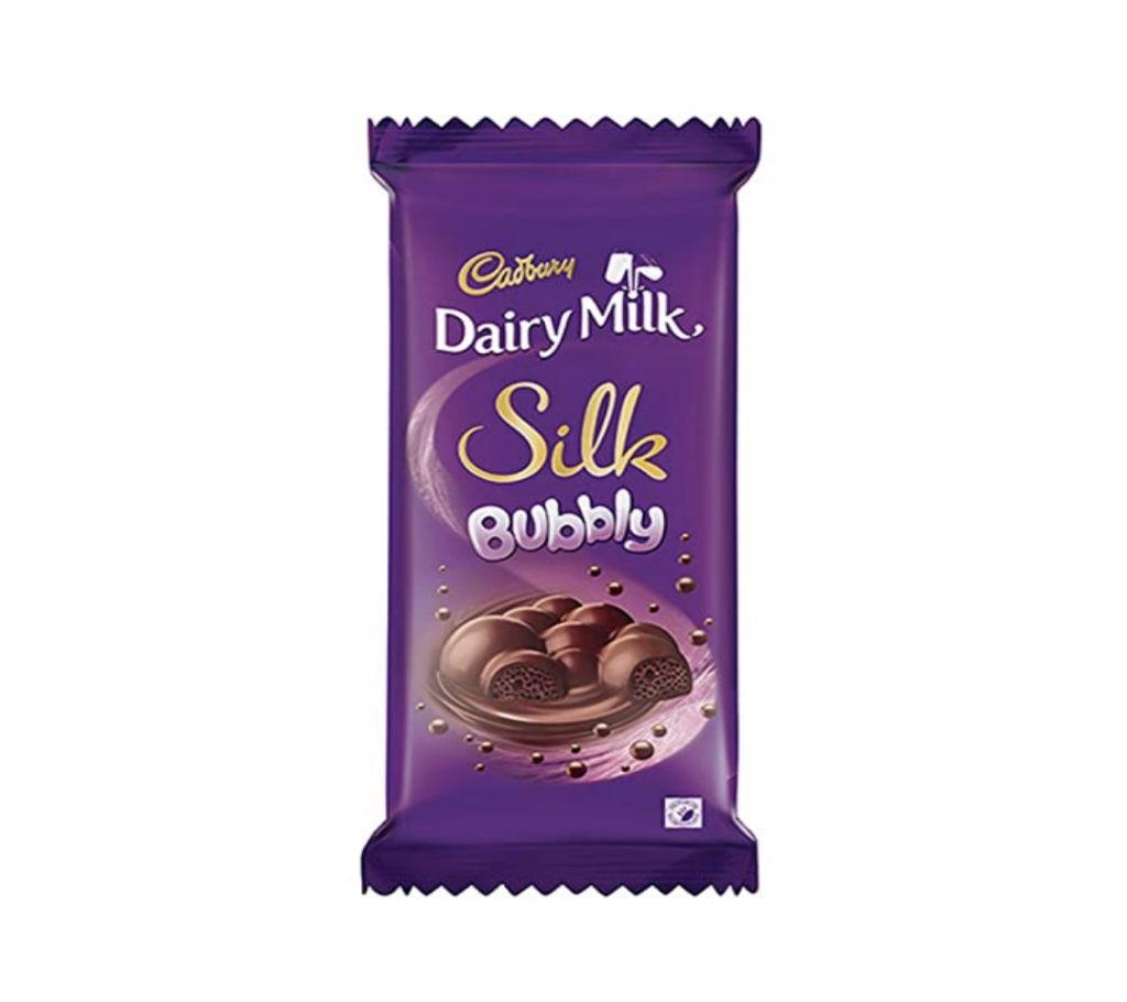 Cadbury ডেইরি মিল্ক সিল্ক Bubbly 50 GM Malaysia বাংলাদেশ - 1146327