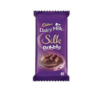 Cadbury Dairy Milk Silk Bubbly 120 GM Malaysia