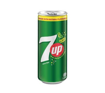 7UP CANNED DRINK 320 mL Malaysia