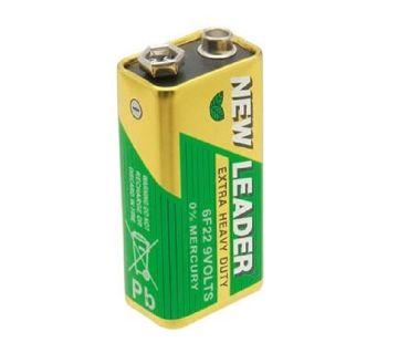 NEW LEADER 6F 22 9 Volt Battery 5 Piece