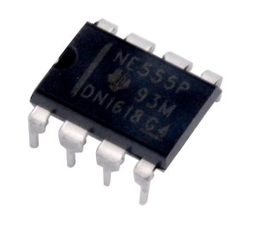 NE555 Timer Chip IC With DIP - 4 IC Socket 5 Piece
