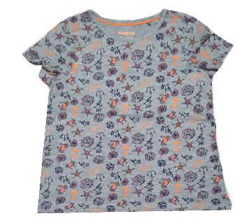 Original Export Cotton Short Sleeve T Shirt For Girls